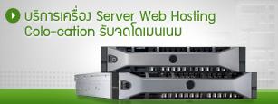 บริการเครื่อง Server Web Hosting Colo-cation จดโดเมนเนม